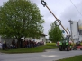 Maibaumaufstellen 2010